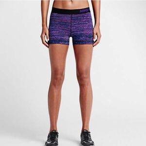Nike Pro Dri Fit shorts 💜